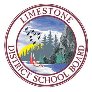 Limestone schoolboard logo